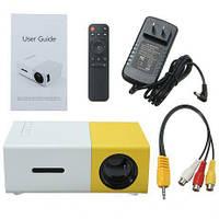 Проектор портативный мультимедийный с динамиком Led Projector YG300, фото 1