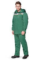Куртка зимняя BRAVO Легион 56-58 182-188 см зеленый