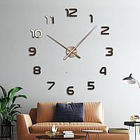 Настенные 3d часы Timelike 120см T4202 Copper