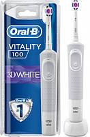 Электрическая зубная щетка Oral b Braun Vitality 100 3 D white