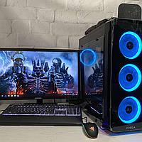 Игровой компьютер Intel Core i5-9400f + GTX 1660 SUPER 6Gb + RAM 16Gb + HDD 1000Gb + SSD 120Gb