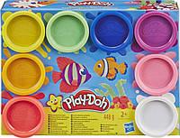 Play-Doh Набор для лепки 8 цветов Радуга, E5062