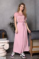Длинное летнее легкое платье вискоза турецкая размеры 50-56 арт 15178/1