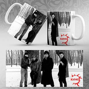 Чашка Цой и группа Кино