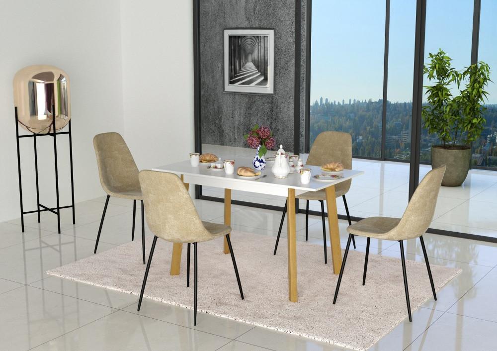 Обеденный стол в скандинавском стиле Фридом Неман