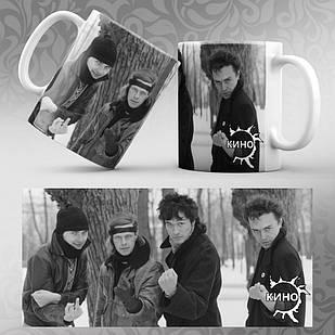 Чашка Цой и группа Кино 003