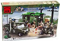 """Детский конструктор Brick 809 """"Военная база"""""""