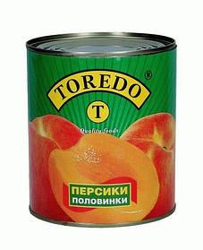 """Персики половинки """"Toredo"""" 820 г"""