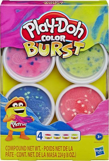 Play-Doh Игровой набор Взрыв цвета Яркие цвета, E8060