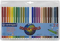 Фломастеры Centropen Colour World 7550 24 цветов