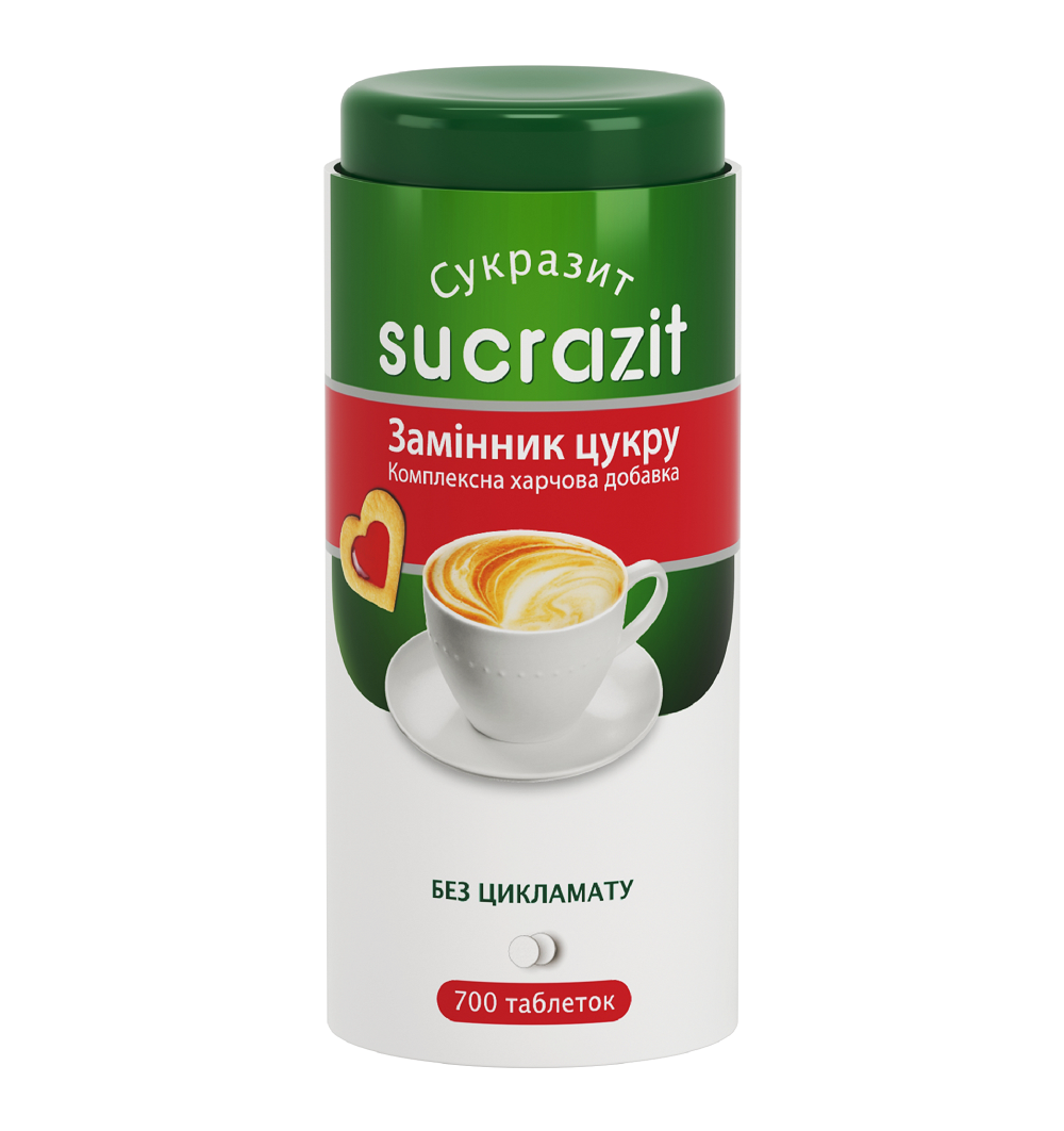 Замінник цукру Sukrazit Patent 700 таблеток