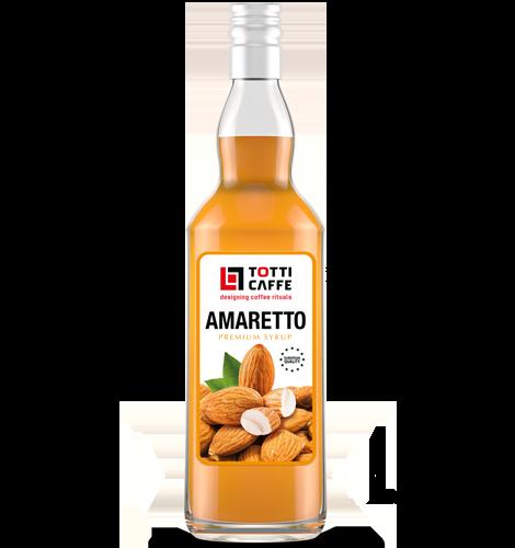 Наповнювач TOTTI Caffe на основі цукрового сиропу Амаретто, 700 мл