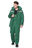 Костюм с полукомбинезоном зимний BRAVO Легион 52-54 182-188 см зеленый