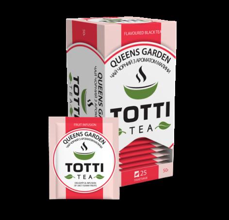 Чай фруктовий TOTTI Tea «Королівський сад», пакетований, 25 шт по 2г.