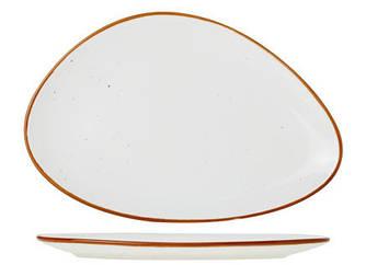 Блюдо треугольное - 29 см, Белое (Cosy&Trendy) Terra Arena