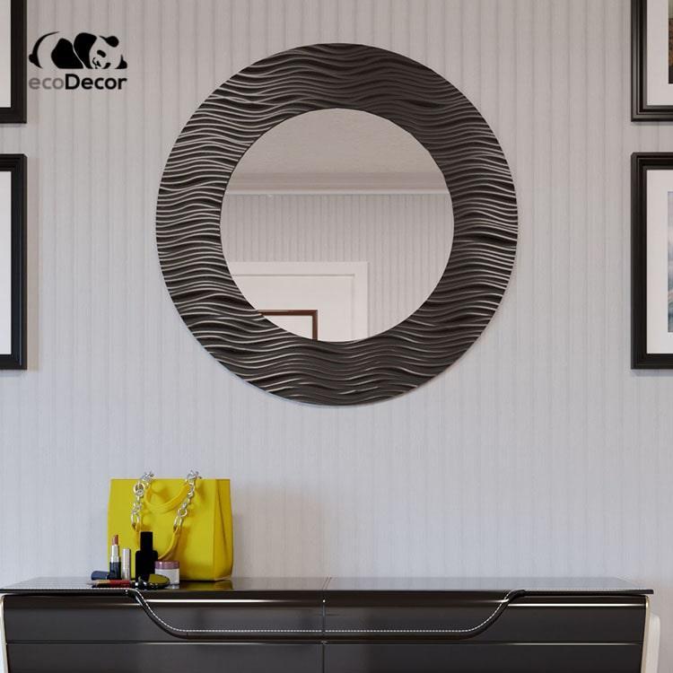 Зеркало в прихожую черное Canberra K1