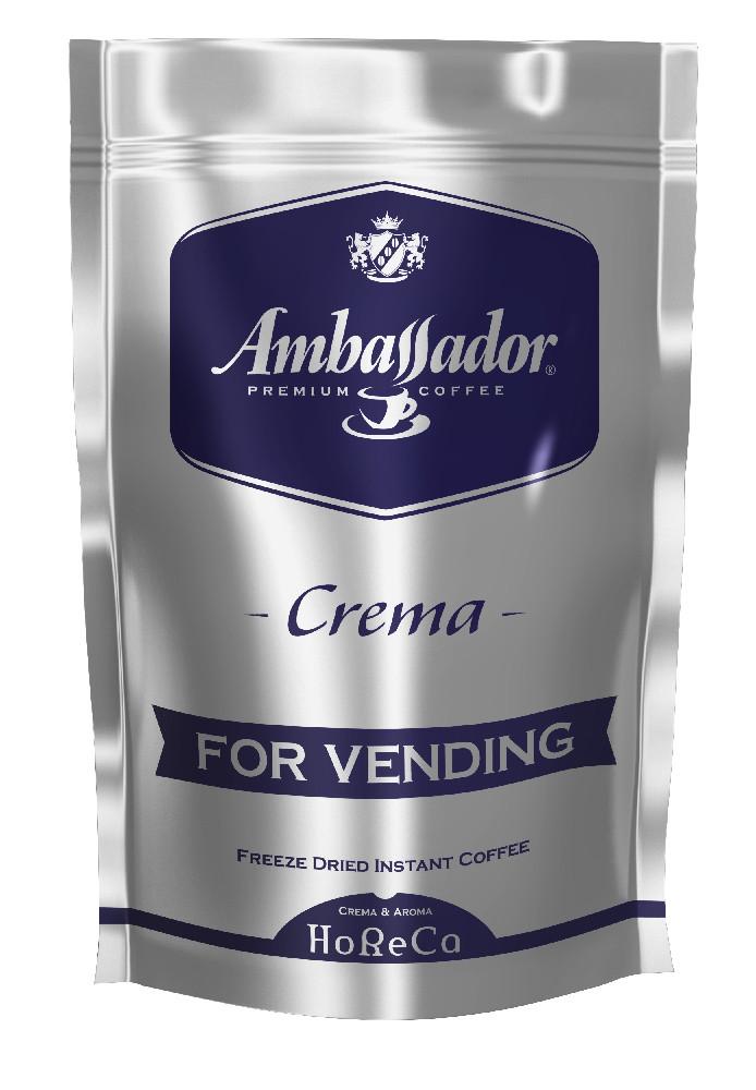 Кава розчинна для торгових автоматів Ambassador Crema, пакет 200г