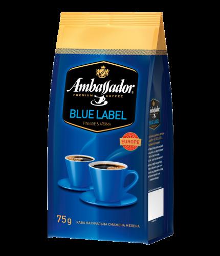 Кава мелена Ambassador Blue Label, пакет 75г