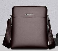 Мужская кожаная сумка. Модель 61176, фото 2