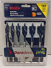 Набір перових свердел з конічним різьбовим наконечником Bosch DSB5006 6 штук