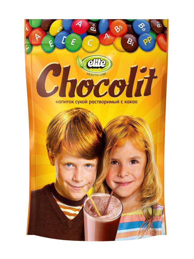 Какао-напій розчинний Elite Chocolit в гранулах, 150г