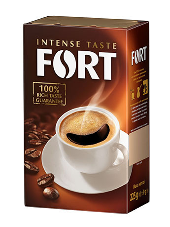 Кава мелена Fort, брікет 500г