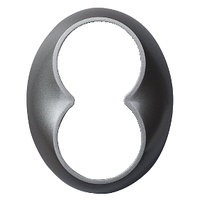 "Рамка для комбинаций ""Средняя"" RENOVA титан, Schneider Electric, WDE011455"