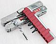 Швейцарський функціональний складаний ніж Victorinox Swisstool Plus 30338.L сріблястий, фото 5