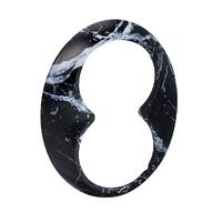 Рамка для 2-й розетки RENOVA черный мрамор, Schneider Electric, WDE011467