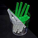 Комплект стрижнів клейових флуоресцентних 7,4 мм*100мм, 12 шт. INTERTOOL RT-1039, фото 3
