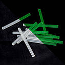 Комплект стрижнів клейових флуоресцентних 7,4 мм*100мм, 12 шт. INTERTOOL RT-1039, фото 4