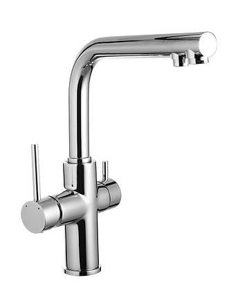 Змішувач для кухні Imprese Daicy 55009-F, хром (з підключенням питної води), фото 2
