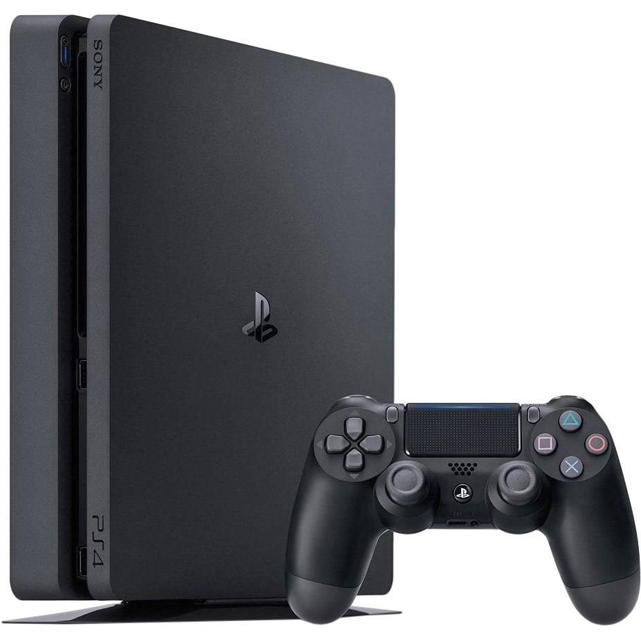 Стационарная игровая приставка Sony PlayStation 4 Slim (PS4 Slim) 1TB Black
