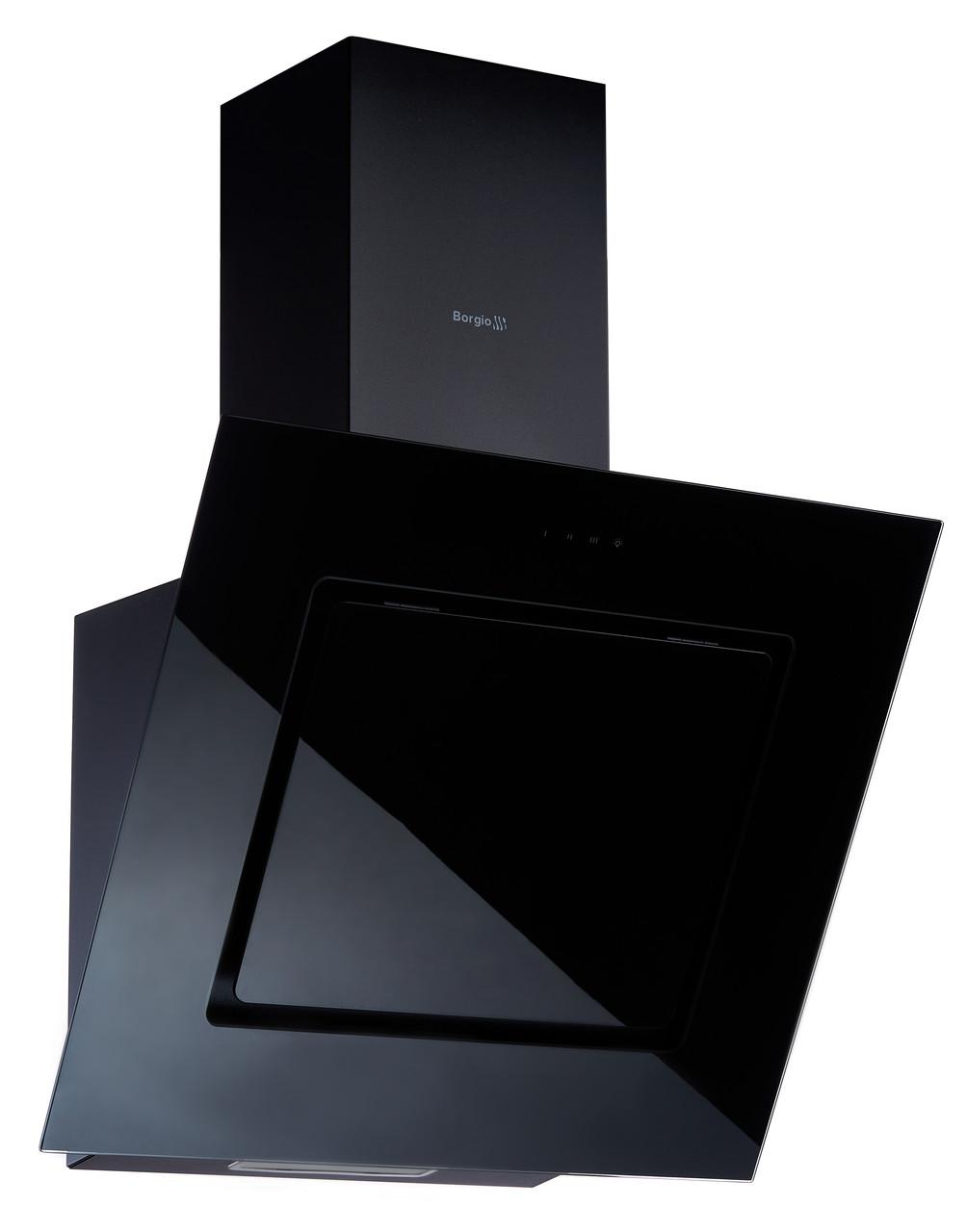 Кухонна витяжка BORGIO RNT-F 60 black MU (850 м/куб)