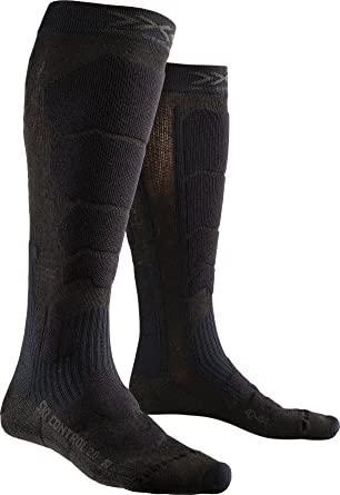 Термоноски X-socks Ski Control 2.0 чорні | роз. 35-38, 45-47