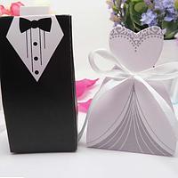 Хит! Модные свадебные Бонбоньерки Жених и Невеста, 401 цена за пару