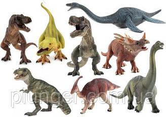 Вафельна картинка для кондитерських виробів Динозаври (аркуш А4) 4
