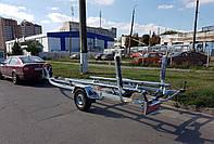 Прицеп для лодки моторной, металлической, пластиковой, надувной