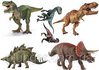 Вафельна картинка для кондитерських виробів Динозаври (аркуш А4) 6