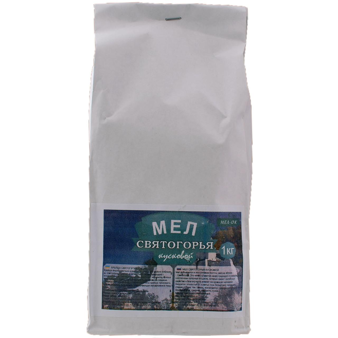 Мел Мел-ок Святогорье пищевой кусковой 1000 г