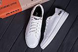 Мужские кожаные кеды  FILA Soft White Leather ., фото 10