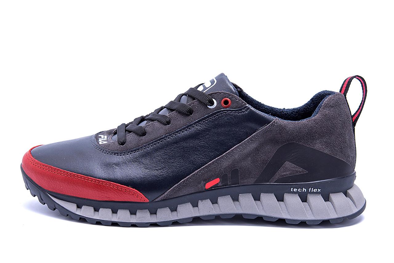 Мужские кожаные кроссовки FILA Tech Flex Blue ;