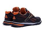 Мужские кожаные кроссовки Reebok Street Style Brown ., фото 6