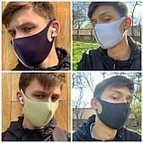 Маска-питта многоразовая антибактериальная защитная Pitta Mask, фото 6