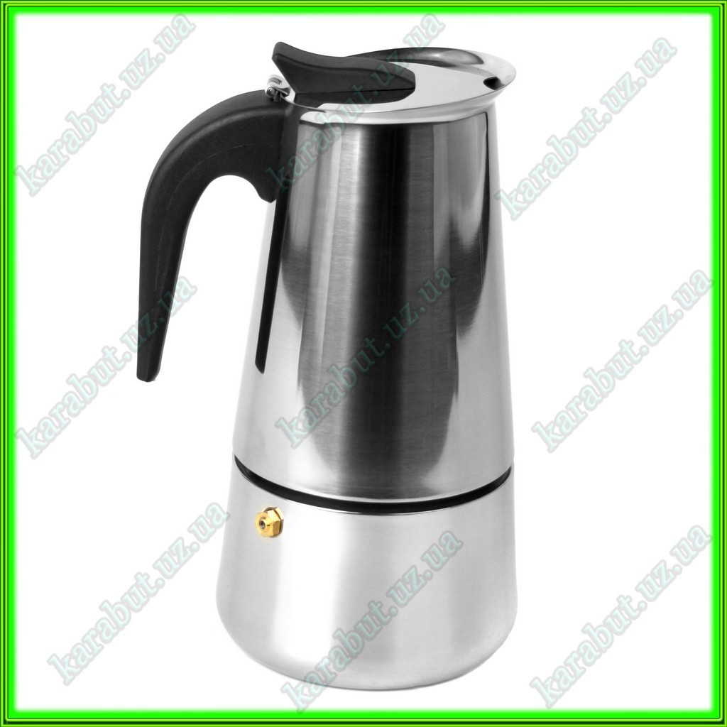 Кофеварка гейзерная V0,400л.
