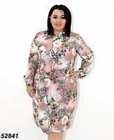 Платье женское легкое большие размеры,54,56р ОПТ/Розница