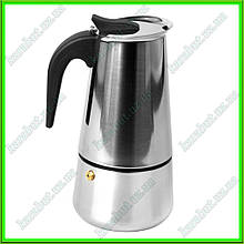Кофеварка гейзерная V0,300л.