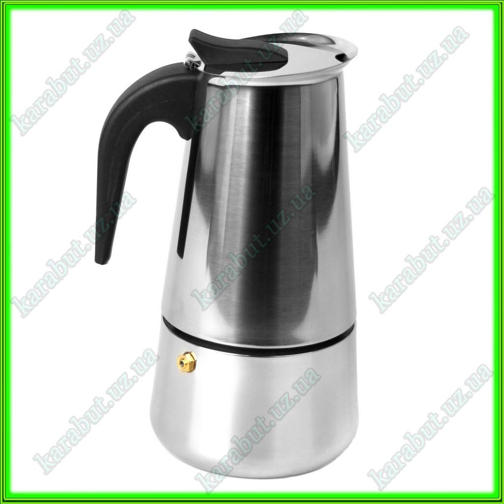 Кофеварка гейзерная V0,550л.