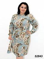 Платье женское легкое большие размеры 54,56р ОПТ/Розница