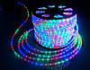Светящийся провод Дюралайт LED 2WAY 13мм верт. мультиколор 3000К (36 led/m) светодиодный